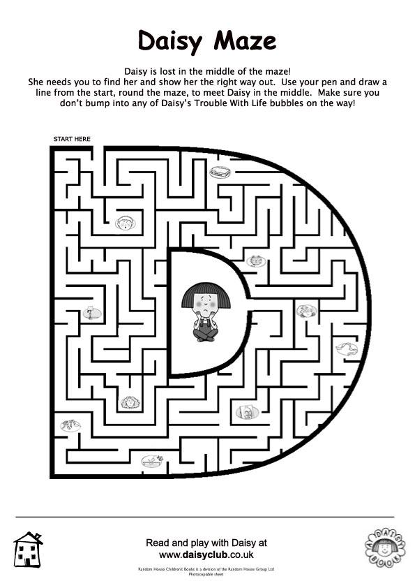 Daisy maze act puzz 93