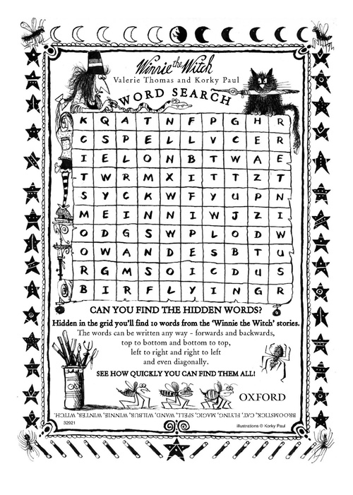 comfortable printable halloween games are fun word search printables - Halloween Activities To Print