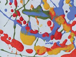 Splatter artwork