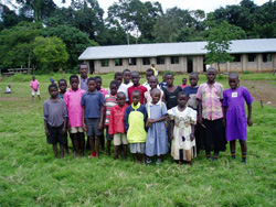 Children from Bubeke school in Uganda