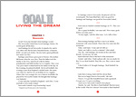 ELT Reader: Goal 2: Living the Dream Sample Chapter (3 pages)
