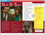 ELT Reader: Mr Bean's Holiday Fact File (1 page)