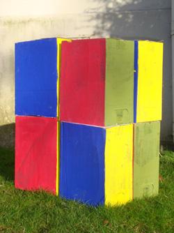 Giant Art - cube