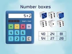 Number boxes screengrab