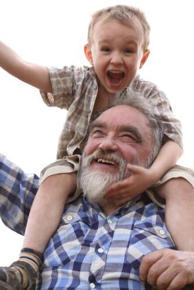 Fun with Grandad