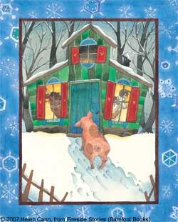 Illustration from Fireside Stories (Barefoot Books)