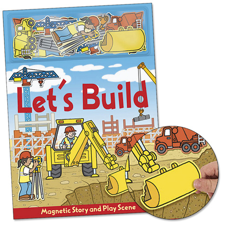 Magnetic Play Scene: Let's Build