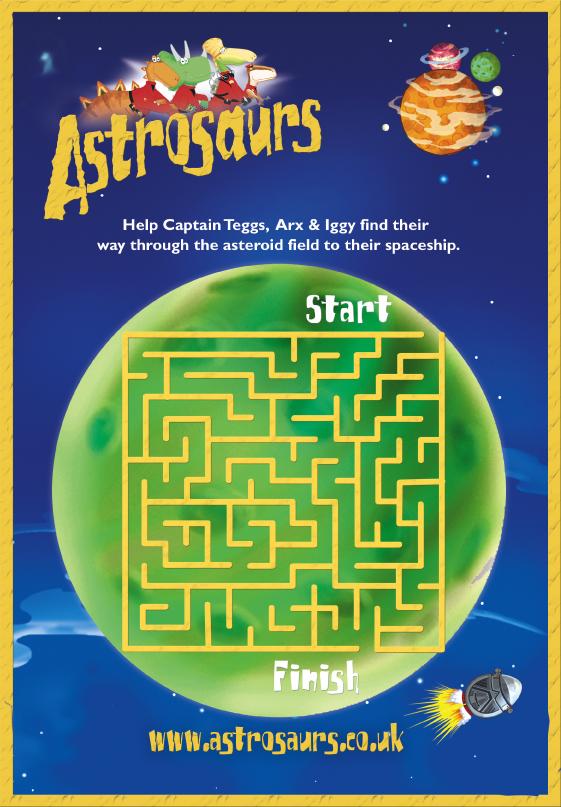 Astrosaursmaze act puz 515673
