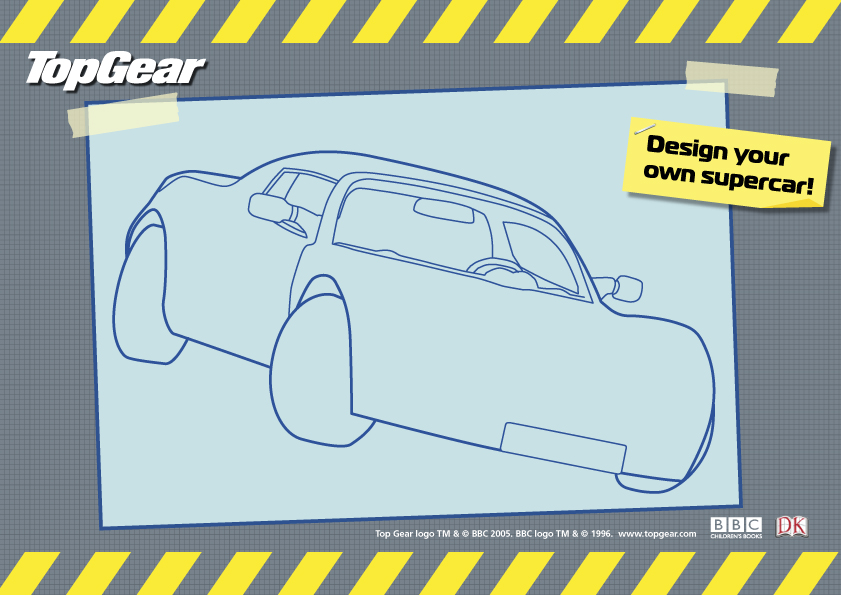 Top Gear Design Your Own Supercar - Scholastic Kids\' Club