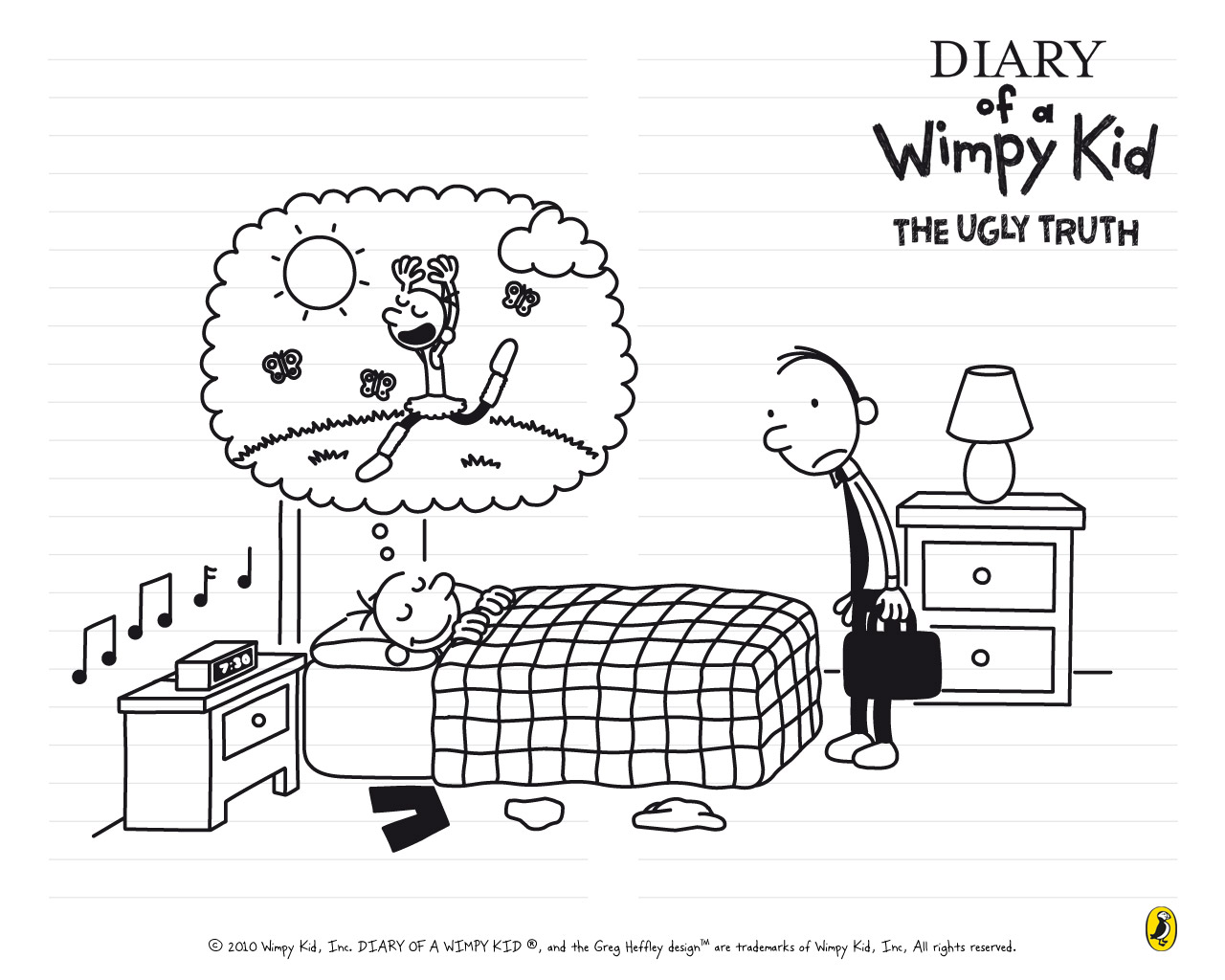 diary of a wimpy kid coloring pages Diary Of A Wimpy Kid The Ugly Truth Coloring Pages | Coloring Pages diary of a wimpy kid coloring pages