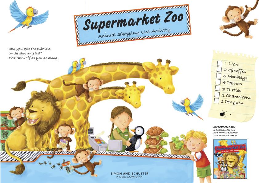 Supermarketzoo act puz 729088