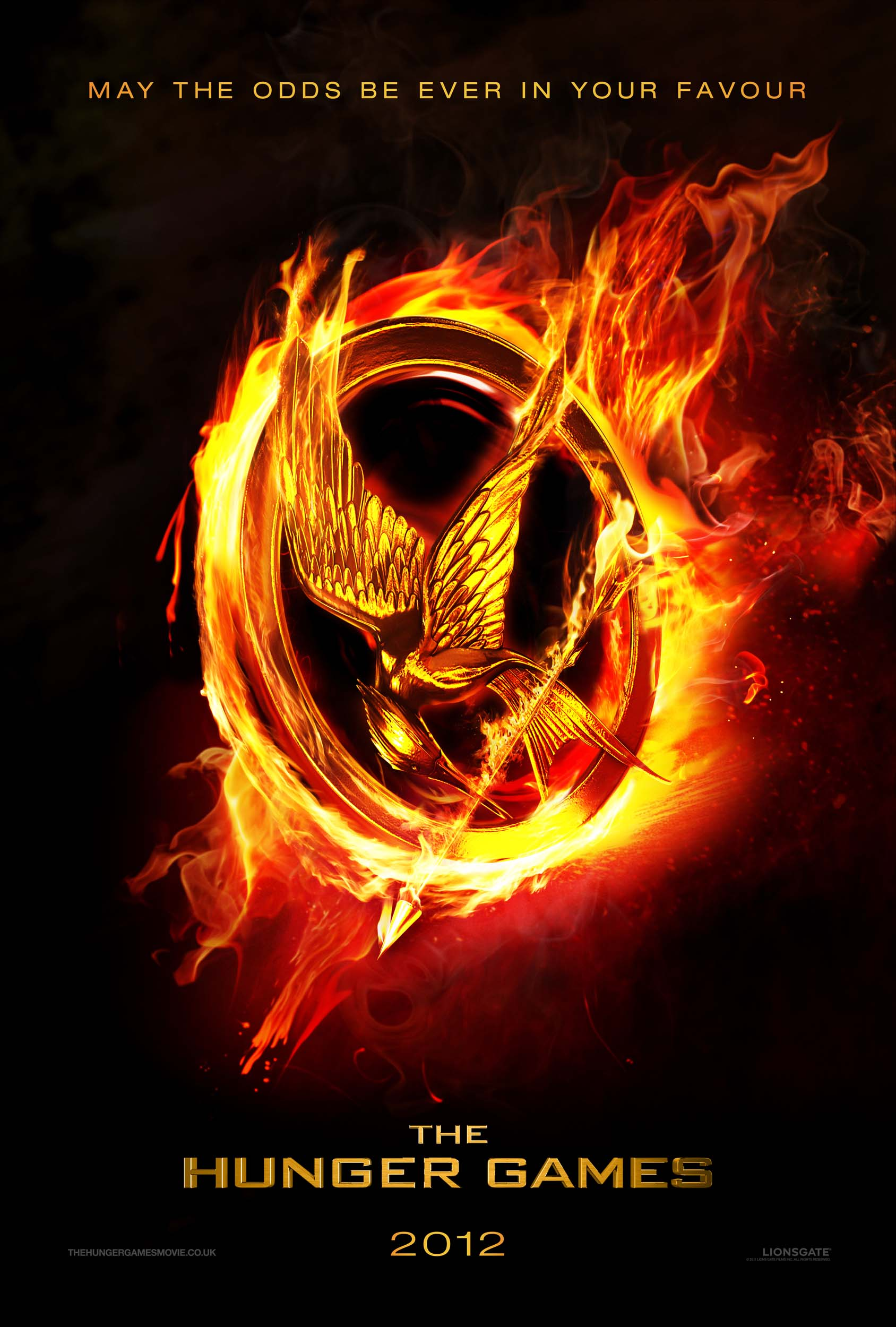 Hunger Games Movie Poster Scholastic Kids Club