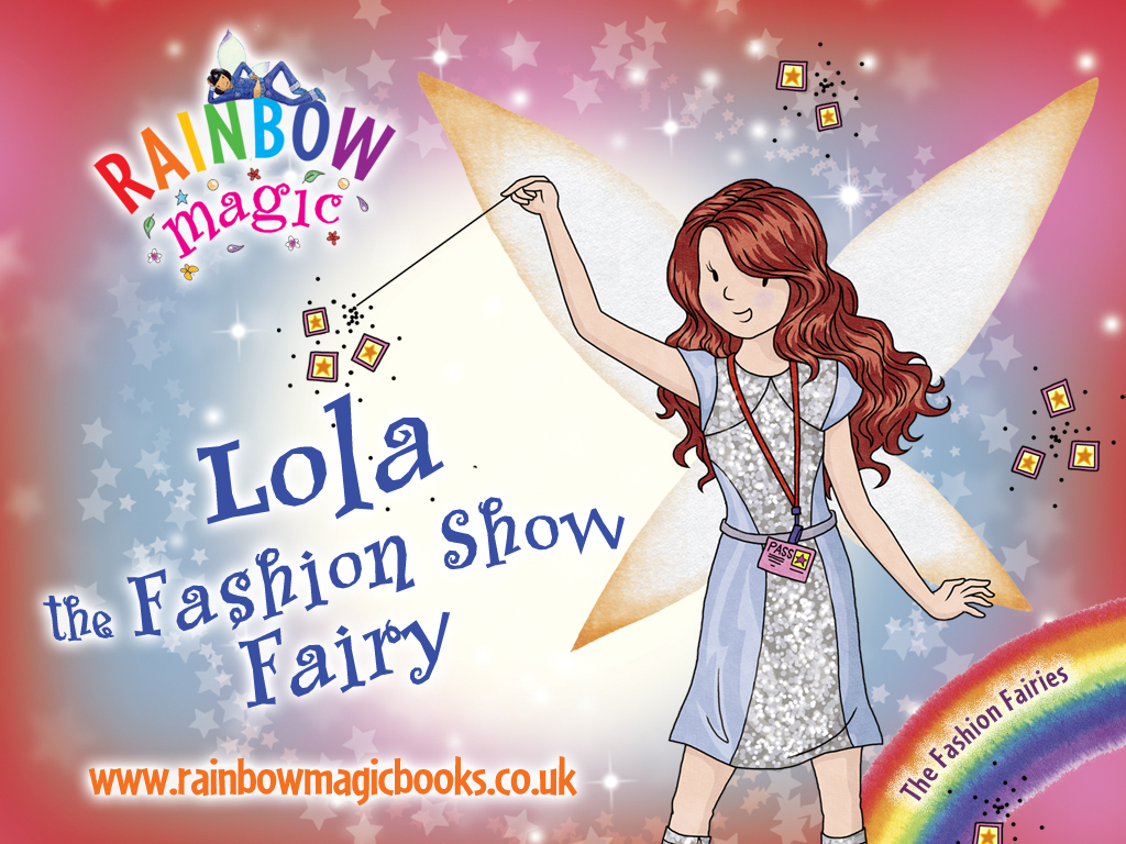Rainbow Magic Fashion Fairies Lola Wallpaper Scholastic