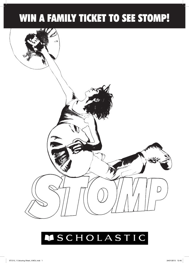 Stomp colouring sheet 1051323