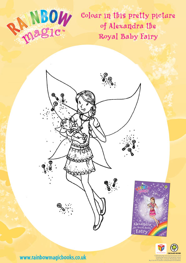 Rainbow Fairy Coloring Pages Coloring Pages