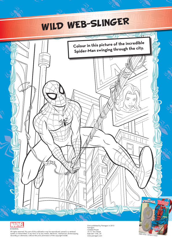 Spiderman act col 1176507