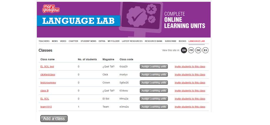 Language lab promo pic