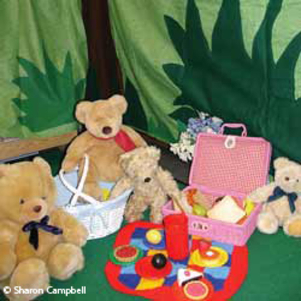 It's time for teddy's picnic