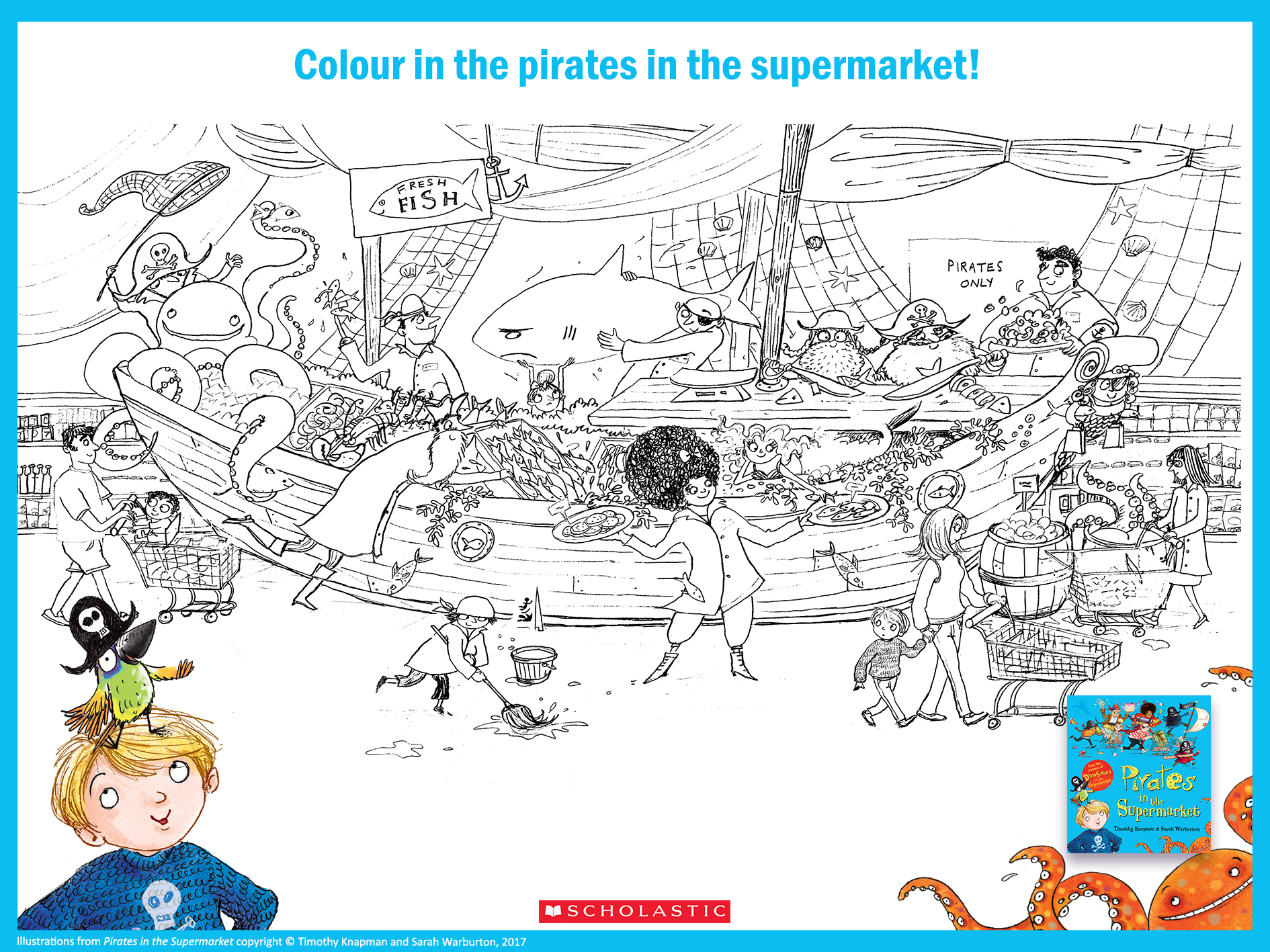 Pirates colouring activity 1617483