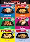 Food around the world poster