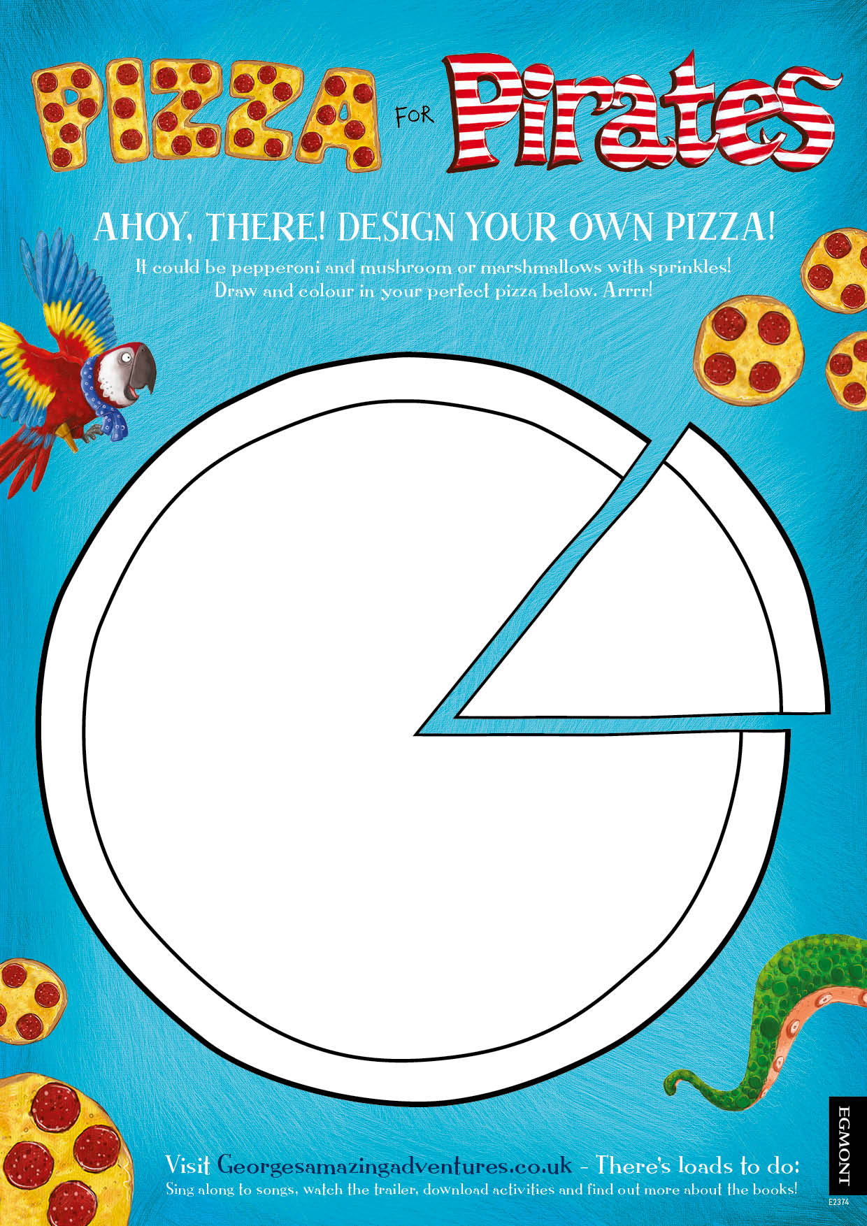 E2374 pizza pirates activity sheet 1632080