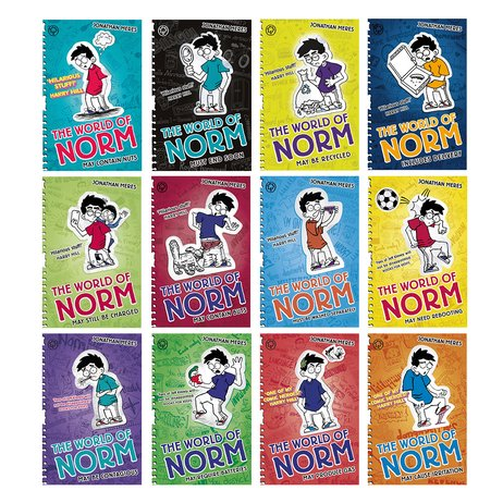 The World of Norm Pack x 12