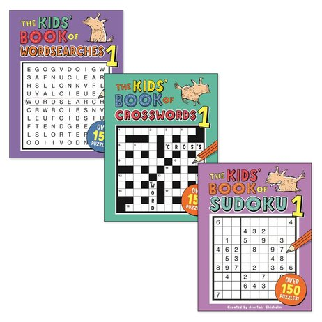 Keep Busy Puzzle Pack x 3