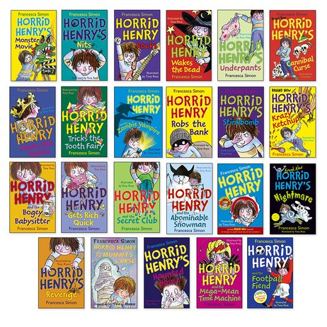 Horrid Henry Pack x 23