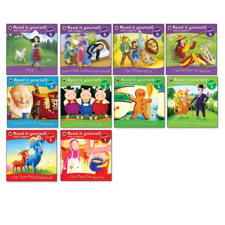 Ladybird Read It Yourself: Favourite Fairy Tales Pack x 10