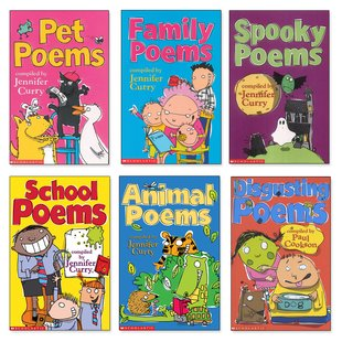 Scholastic Poetry Pack x 6