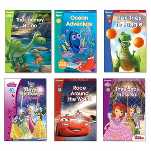 Disney Adventures in Reading Pack x 6