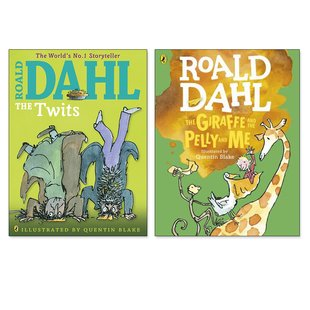 Roald Dahl Colour Editions Pair