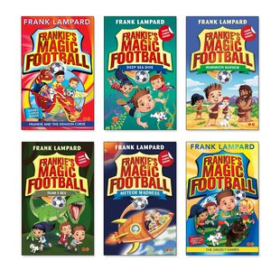 Frankie's Magic Football Pack x 4