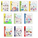 Usborne Wipe-Clean Essential Skills Pack x 10