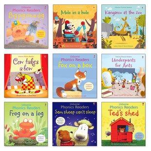 Usborne Phonics Readers Pack x 9