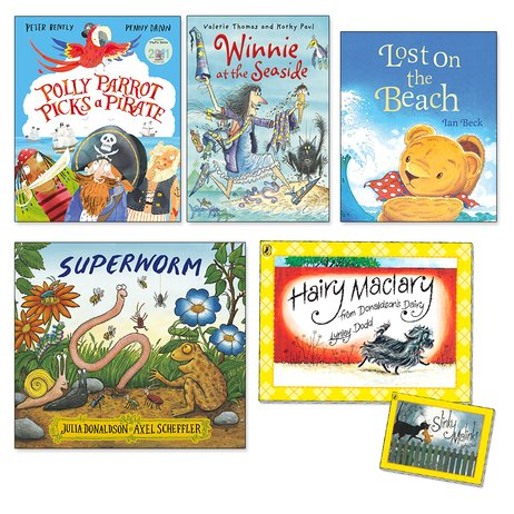Summer Picture Books Pack x 5