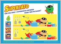Supertato - Spot the Difference
