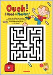 Ouch! I Need a Plaster! Maze (1 page)