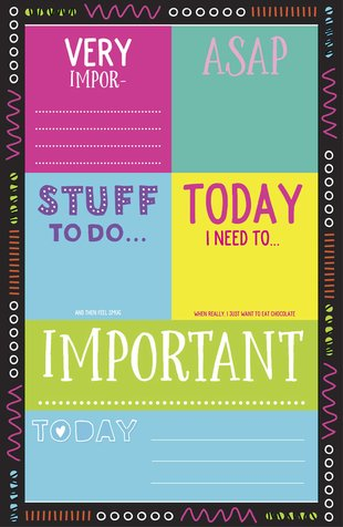 Stuff to Do Post-It Journal