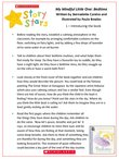 Story Stars Resource: My Mindful Little One (4 pages)