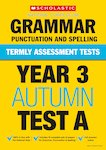 Year 3 Grammar, Punctuation and Spelling Test A x 30