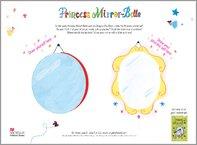 Princess Mirror-Belle Drawing Activity