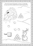 Disney Frozen Puzzle Activity 3 (1 page)