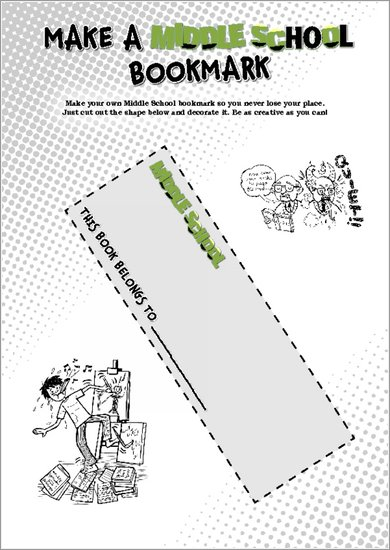 Make a Middle School Bookmark