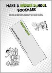 Make a Middle School Bookmark (1 page)