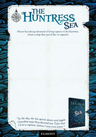 The Huntress: Sea Drawing Activity