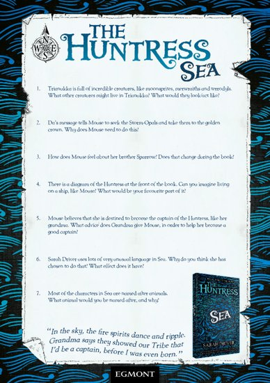 The Huntress: Sea Questions