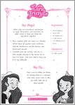 Tiara Friends Ice Pops Recipe (1 page)