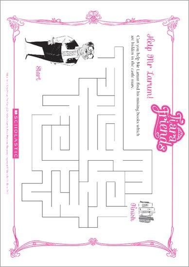 Tiara Friends Maze Puzzle