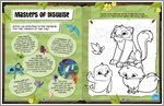 Animal Jam - Masters of Disguise Colouring (1 page)